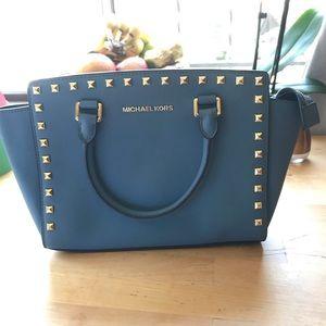 Michael Kors Selma Studded Handbag